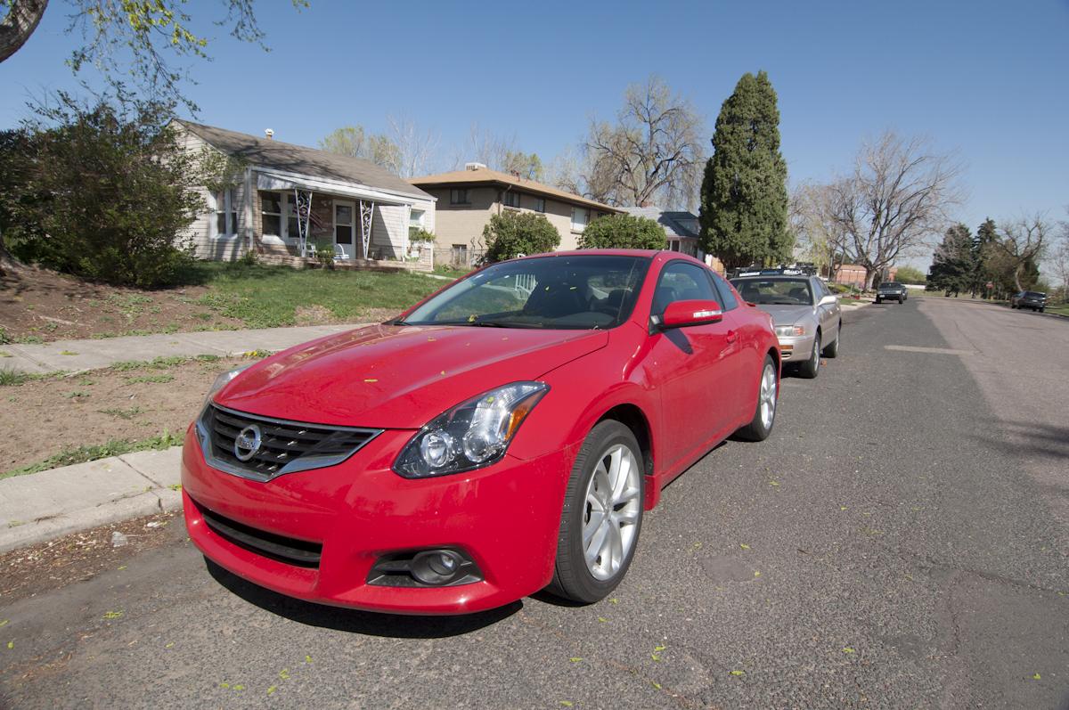 2012 Nissan Altima 3.5 SR Coupe Review    Review
