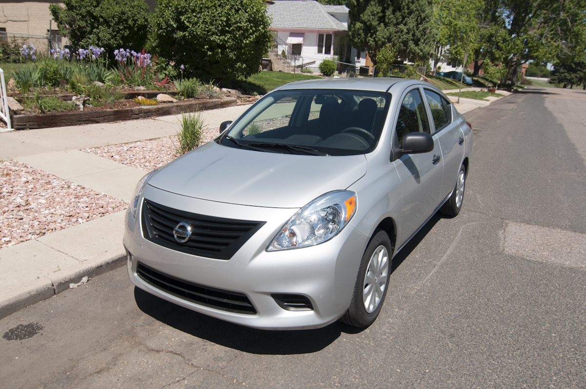 2012 Nissan Versa 1.6 S Sedan | Review