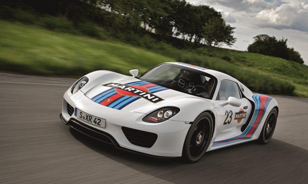 Porsche 918 Spyder Martini Concept 1