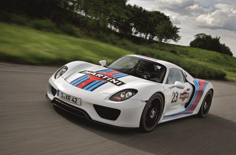 Porsche 918 Spyder Martini Concept 2