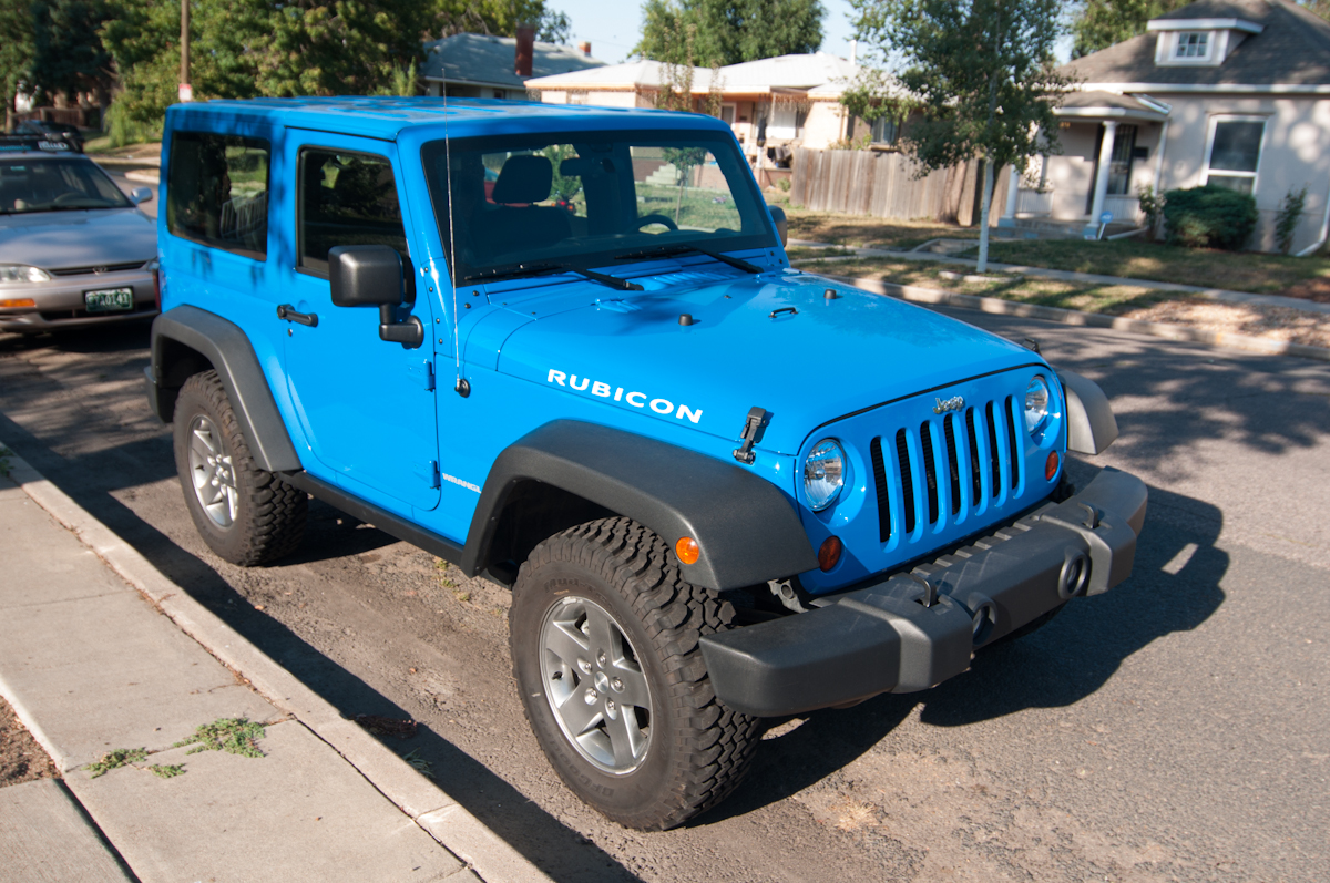 2012 Jeep Wrangler Rubicon    Review