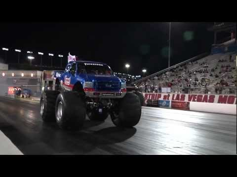 Bigfoot Vs. Jet Car Drag Race 9