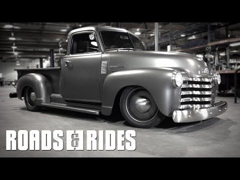 A Ride In The New Icon Chevy Thriftmaster truck 5