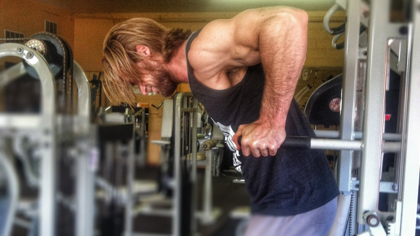 If You're Bored of Push-Ups Give Chest Dips a Go 3
