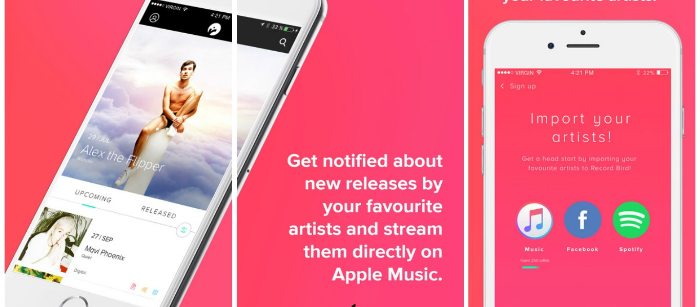 RecordBird – Never Miss New Music Releases With Apple Music Again 1