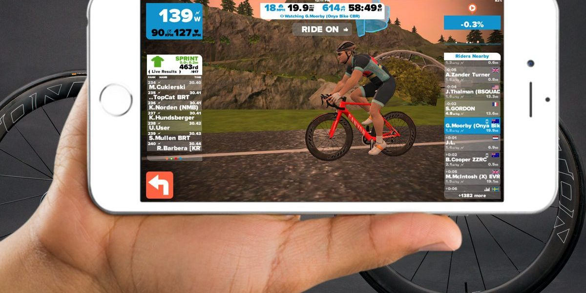 How To Ride Any Zwift Course At Any Time On IOS – Gear & Grit