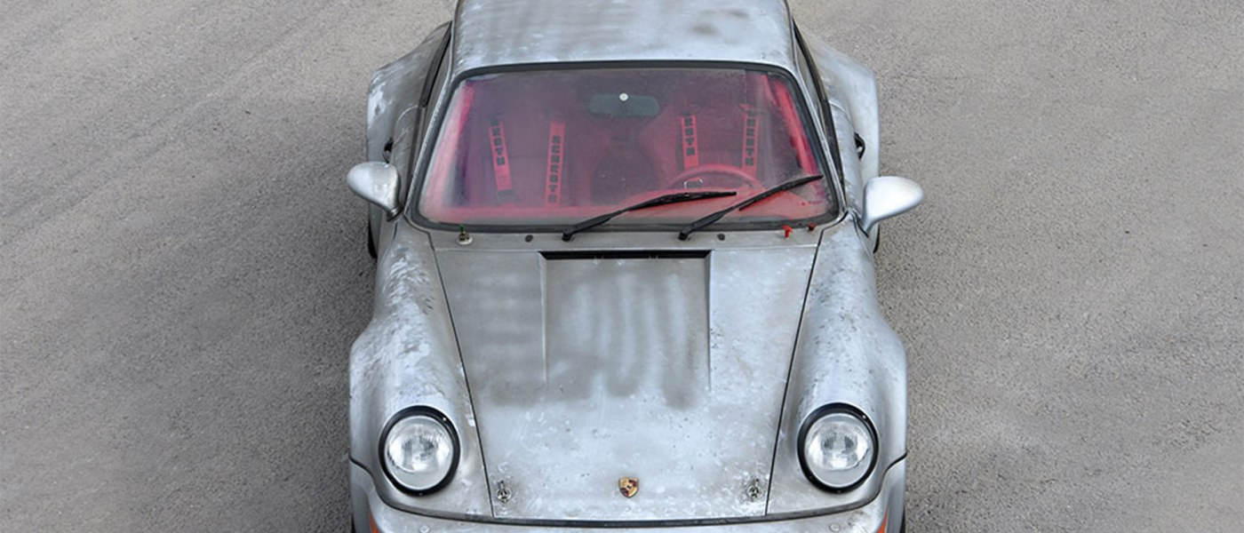 A 1993 Porsche 911 Carrera RSR 3.8 with Only 10 KM on the Odometer is Going to Auction 1