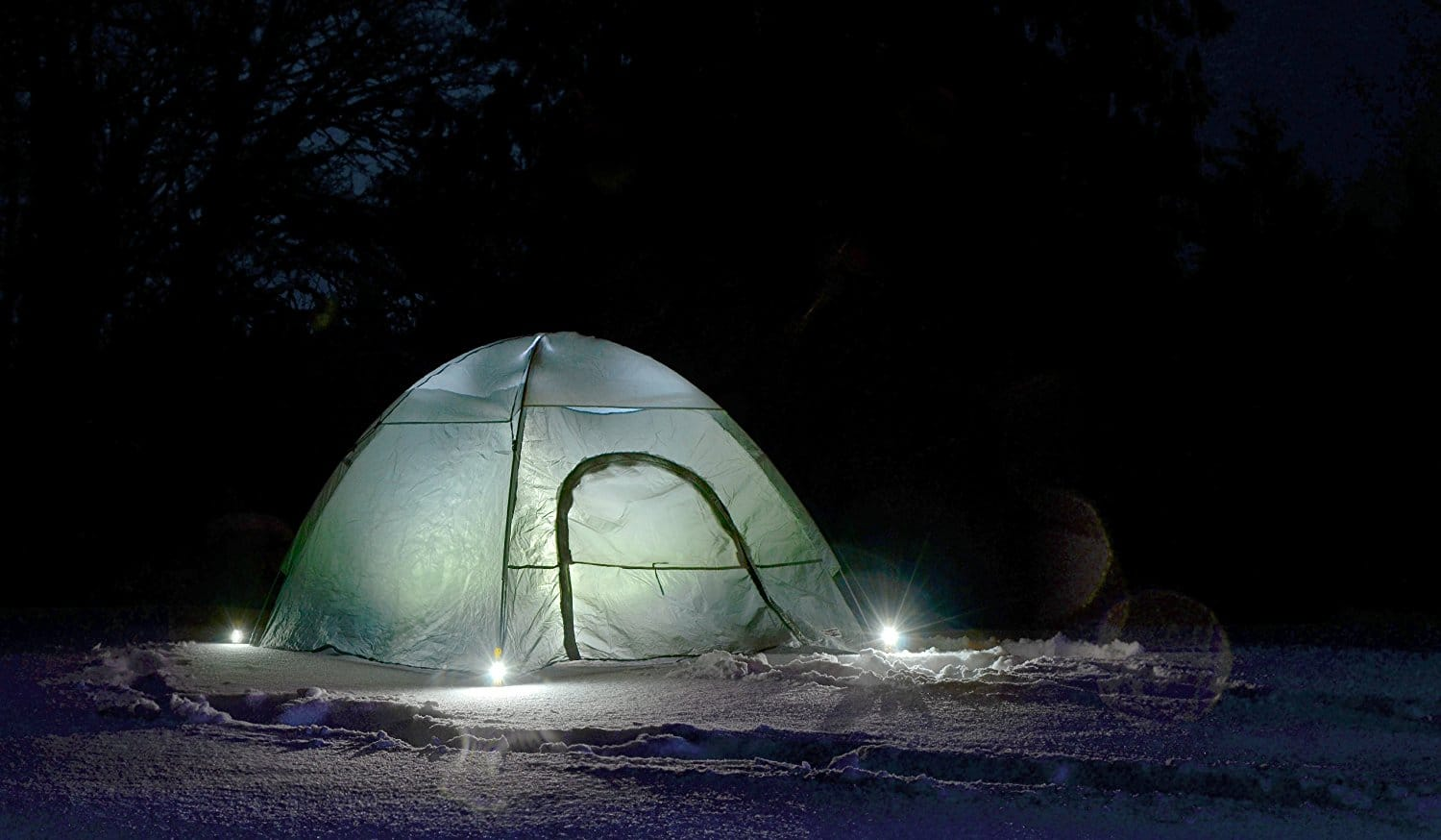 StakeLight LED Tent Stake Add Safety to the Campground 5