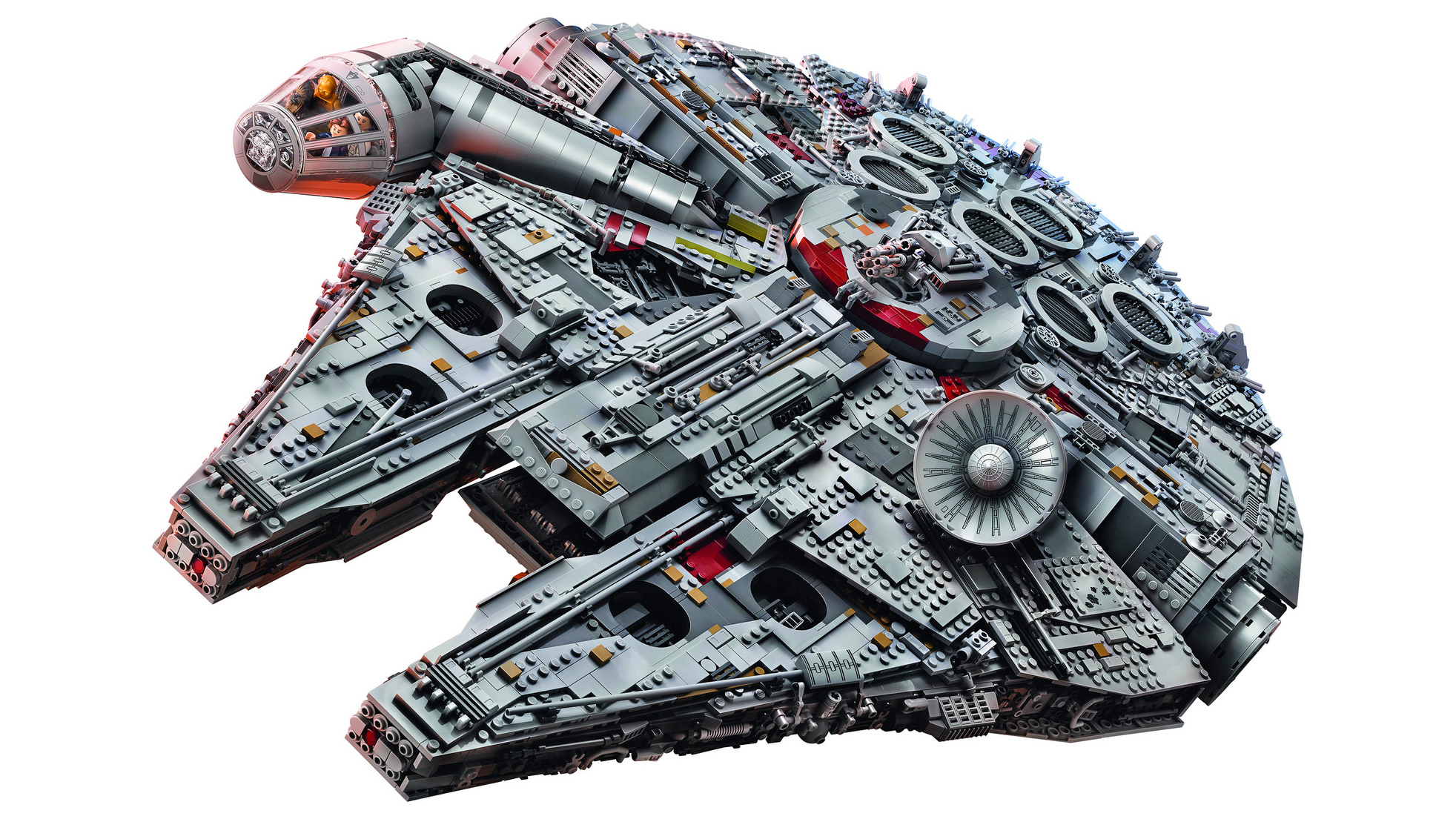 The 7,541-Piece UCS Millennium Falcon Is The Biggest LEGO Set Ever Sold 10