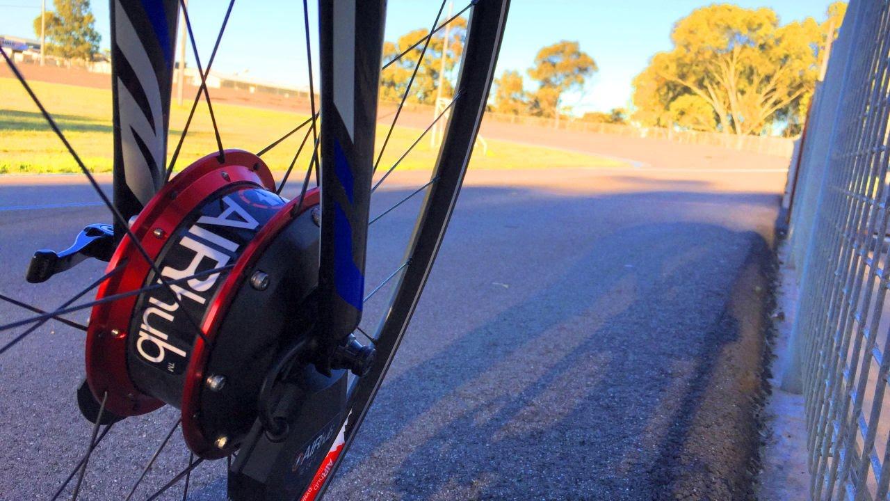 AIRHub - A Bike Wheel That Makes You Slower, Really 13