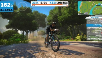 Zwift Through The Desert With Watopia Fuego Flats Expansion