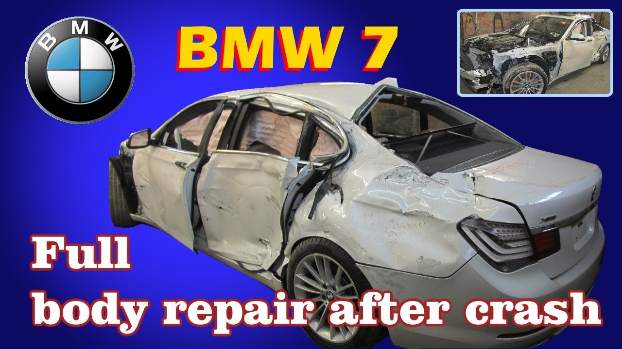 Russian Body Repairman Makes a Totaled BMW Look Like New 3