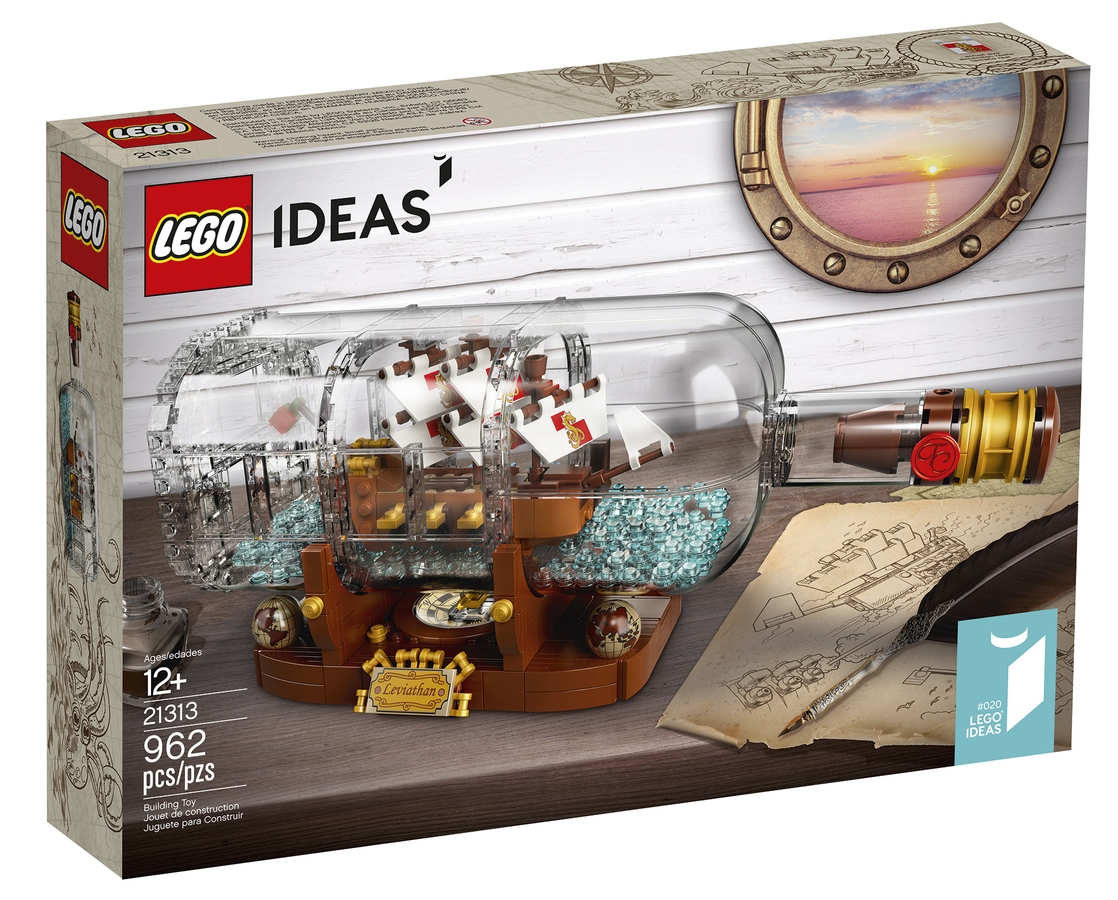 A Clever Ship In A Bottle LEGO Set is Coming Soon 8