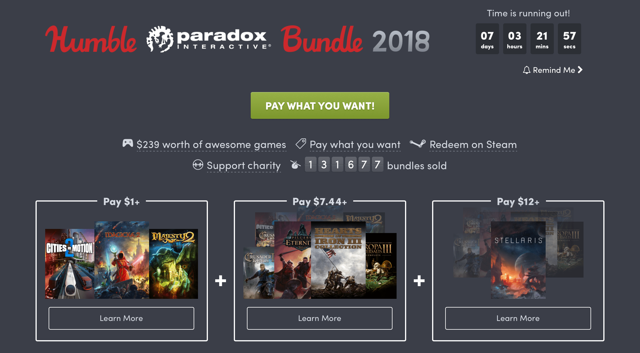 Get Some Great Strategy Games for $12 with Humble's Paradox Interactive Bundle 9