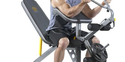 Build a Home Gym With This Discounted Weight Bench & Rack Set