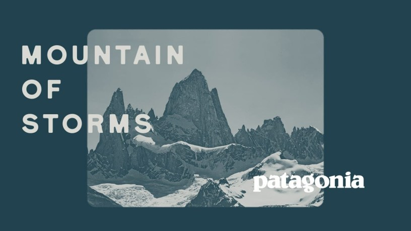 """Patagonia Re-releases Underground Film, """"Mountain of Storms"""""""