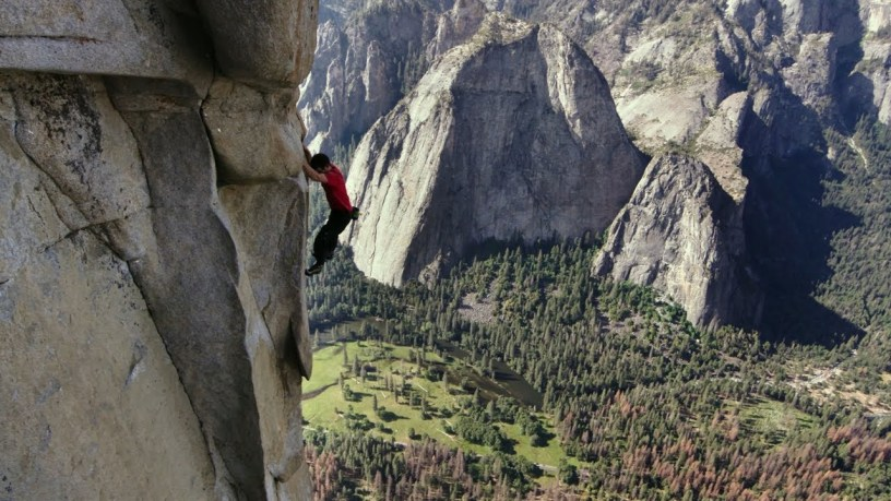 Watch Alex Honnold Climb 3200 Feet with No Ropes in 'Free Solo' Documentary