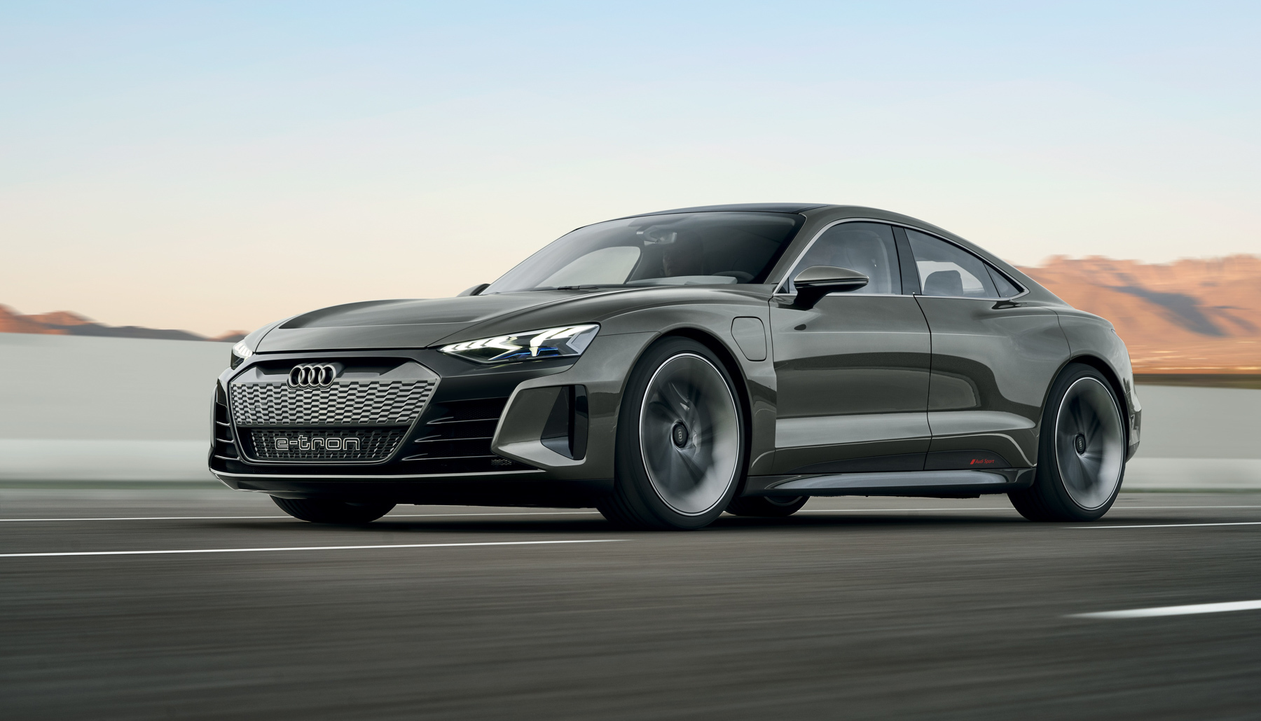 Audi's E-Tron GT Concept, a 590-Horsepower Electric Sedan with Power from Porsche 18