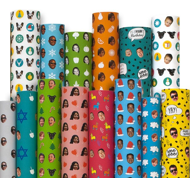 Wrapping Paper With Your Face On It 1