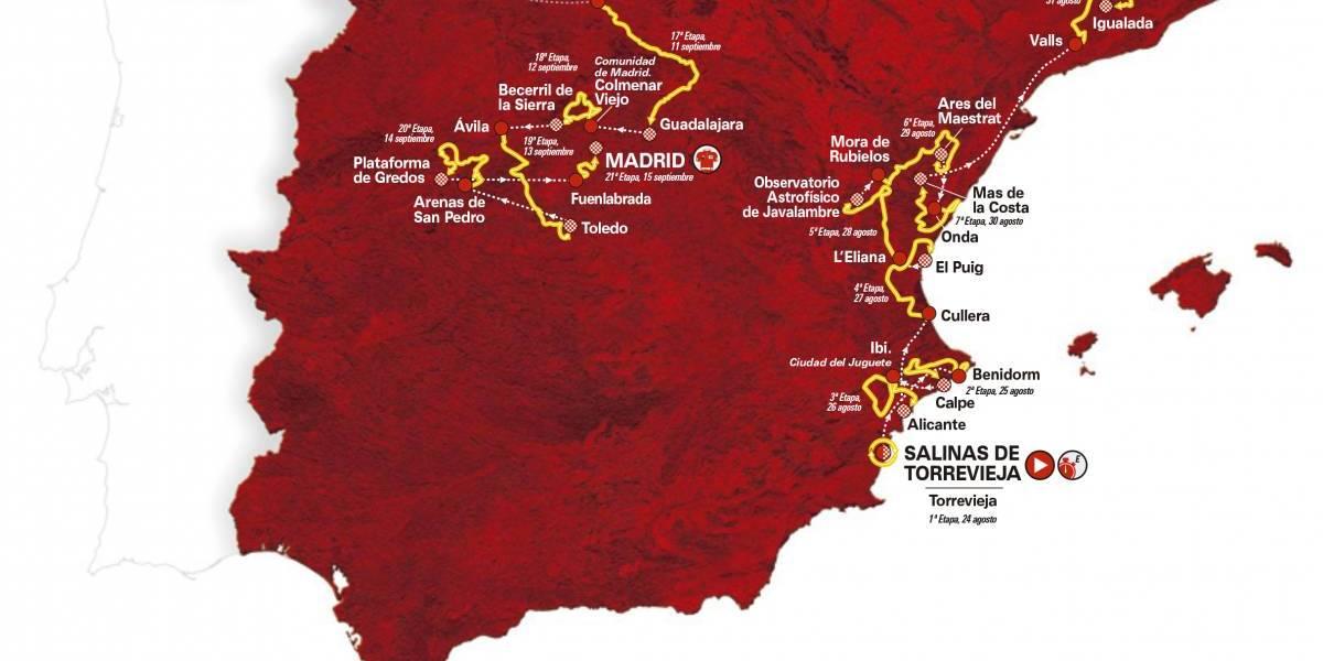 2019 Vuelta a España Route Includes 59 Categorized Climbs 1