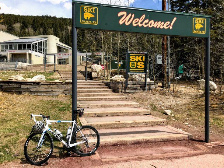 Cycling to the Santa Fe Ski Basin 4