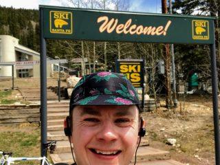 Cycling to the Santa Fe Ski Basin 5