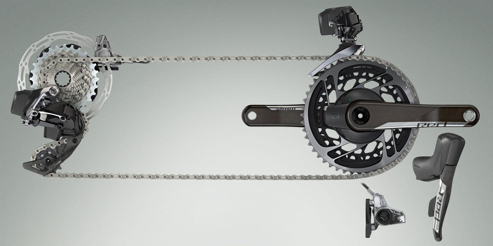 SRAM Launches RED eTap AXS 12-speed Wireless Road Bike Groupset 29