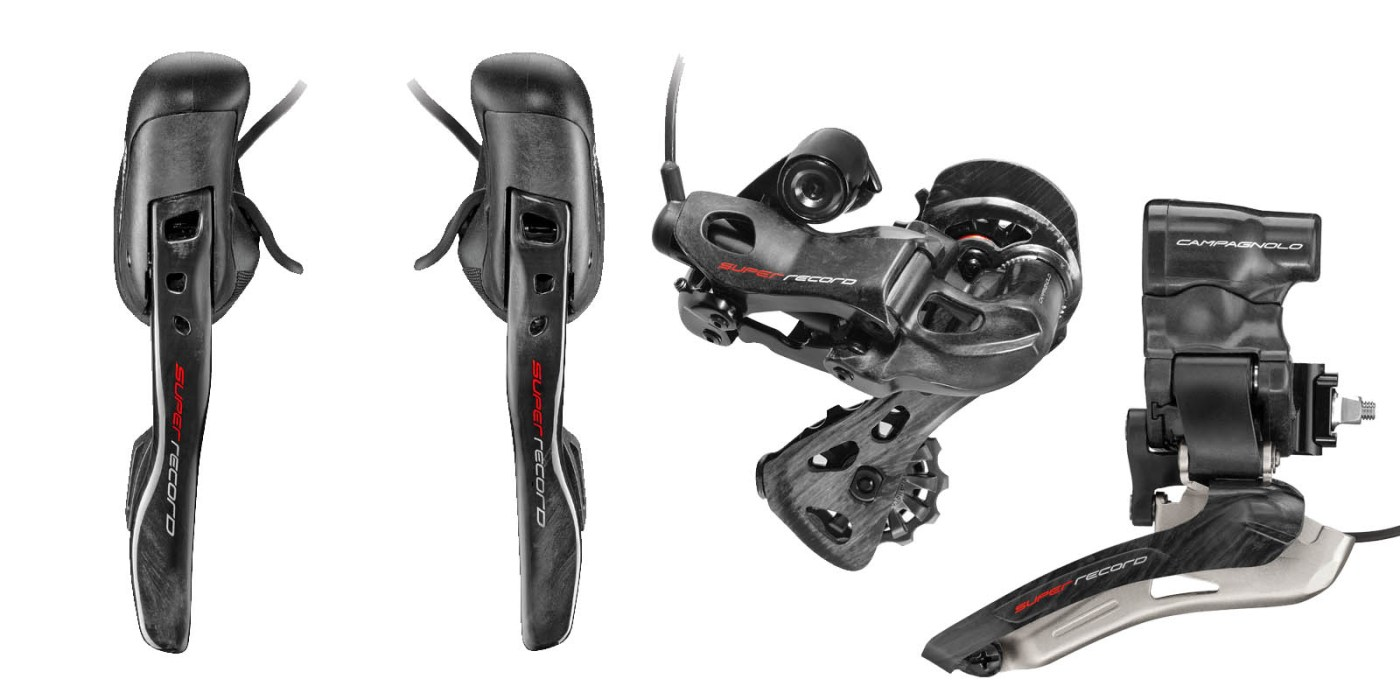Campagnolo 12 Speed Goes Electronic with Super Record EPS 12speed 3
