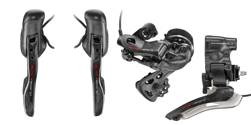 Campagnolo 12 Speed Goes Electronic with Super Record EPS 12speed