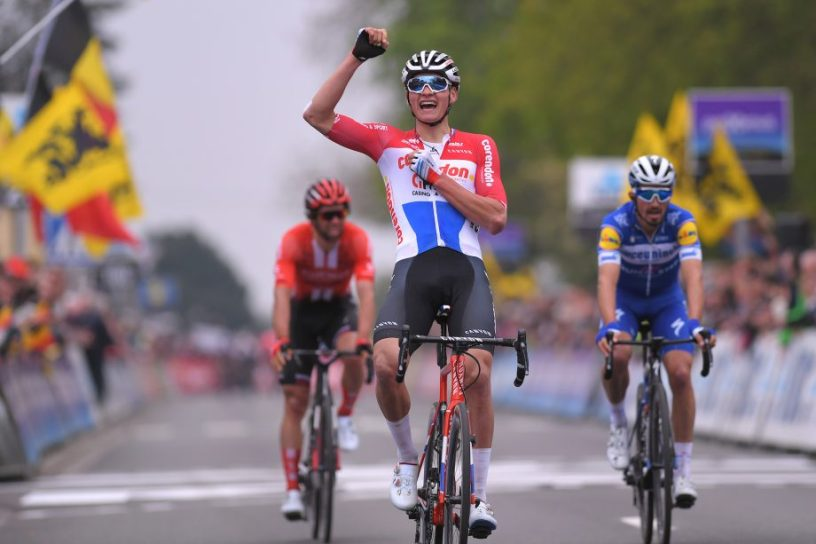 Van der Poel Wins Brabantse Pijl