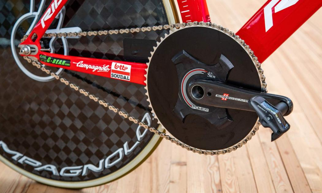 Victor Campenaerts Sets Hour Record on Custom Ridley 8