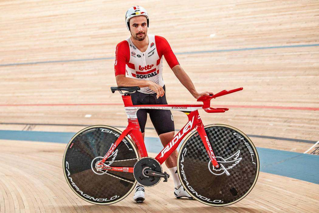 Victor Campenaerts Sets Hour Record on Custom Ridley 3