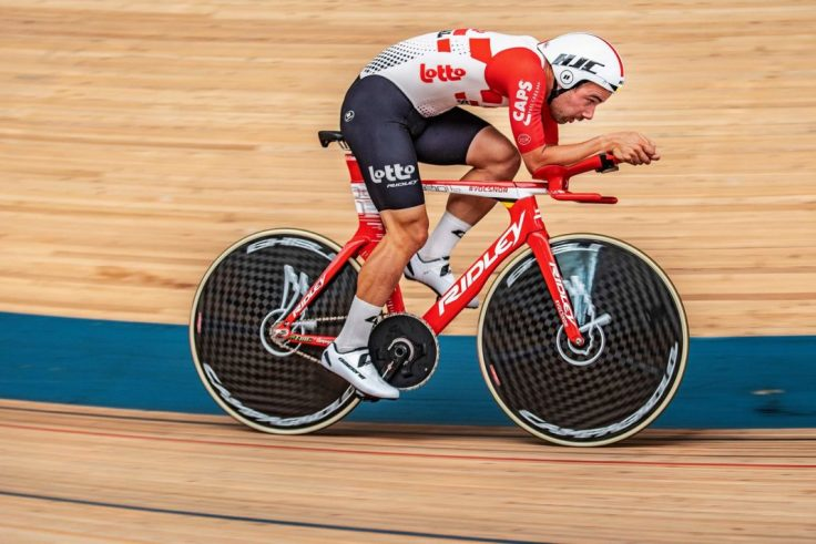 Victor Campenaerts Sets Hour Record on Custom Ridley 4