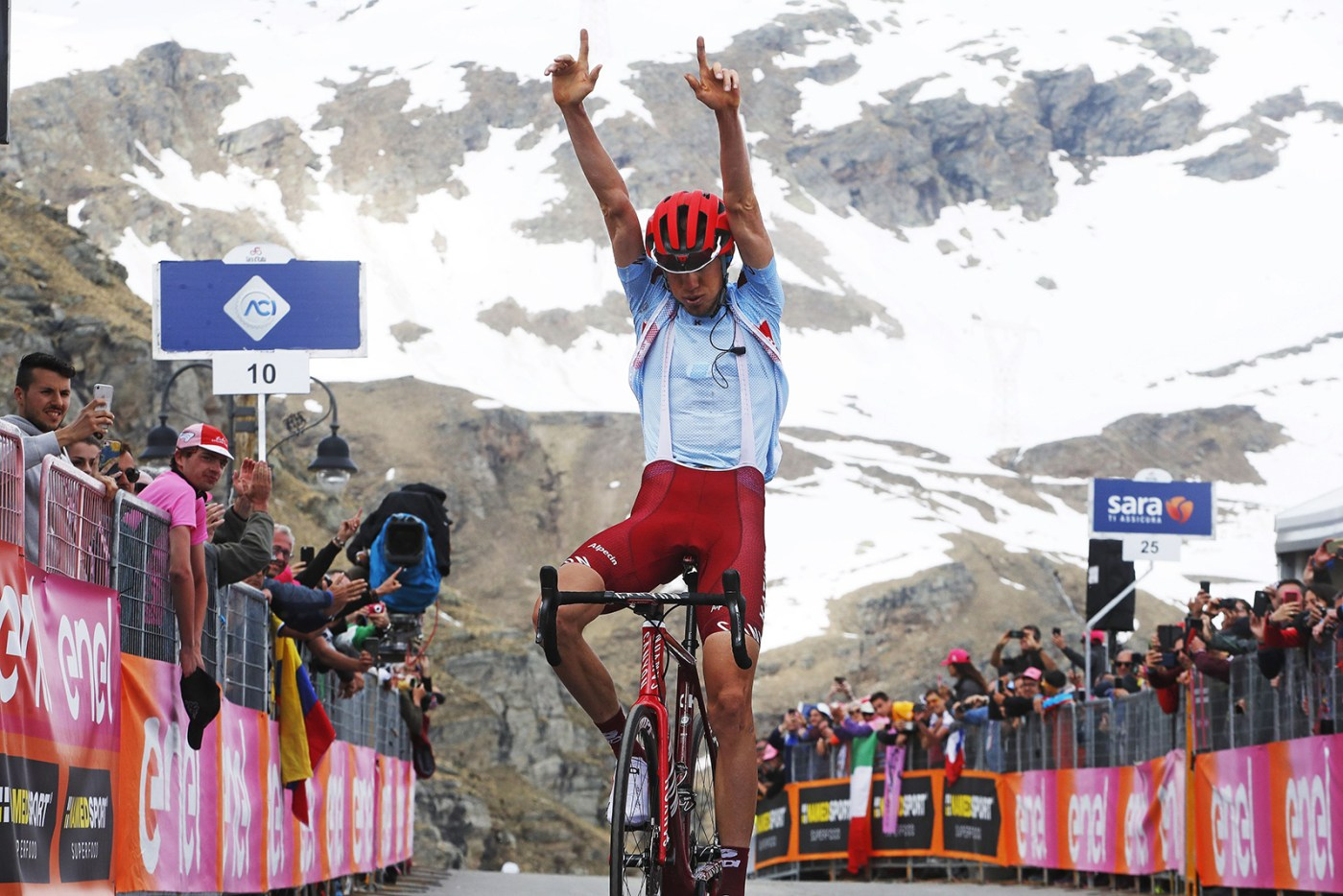 2019 Giro d'Italia Stage 13 Recap: The Big Mountains Shake Things Up 3