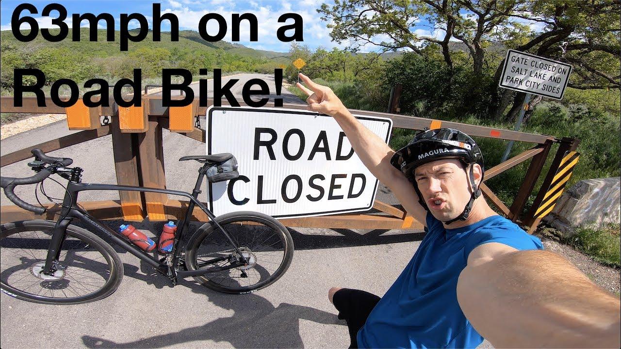 63mph Road Bike Hill Bomb by Eric Porter 12
