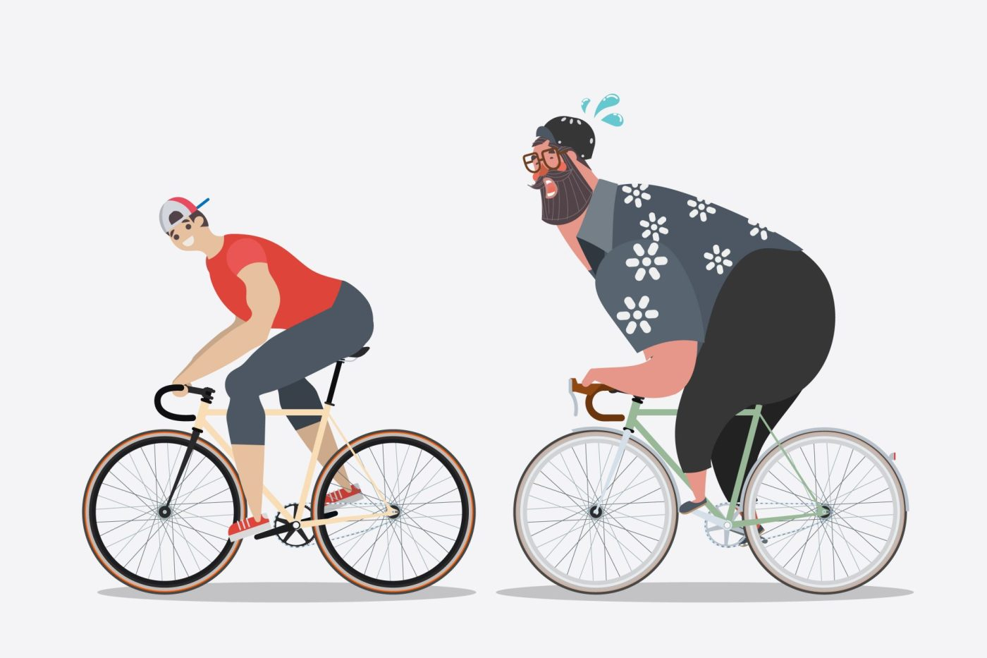 Why You're Cycling More But Not Losing Weight 3