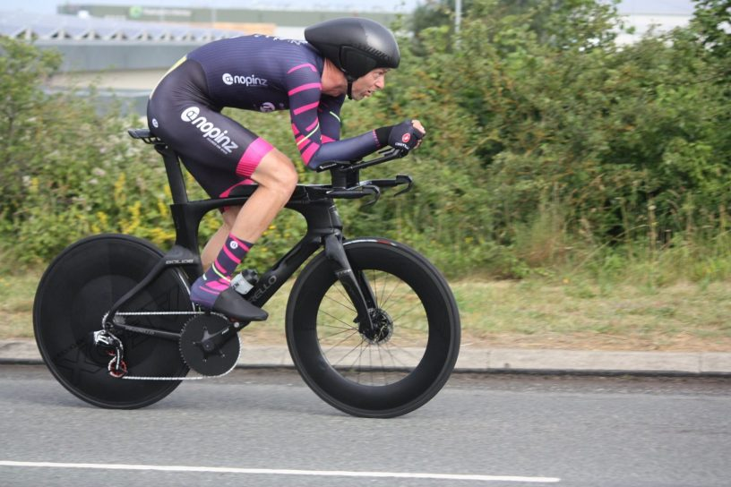 Marcin Bialoblocki Rides 100 Mile Time Trial in 3:13:37