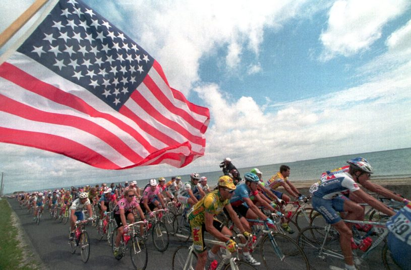 American Riders in the 2019 Tour de France