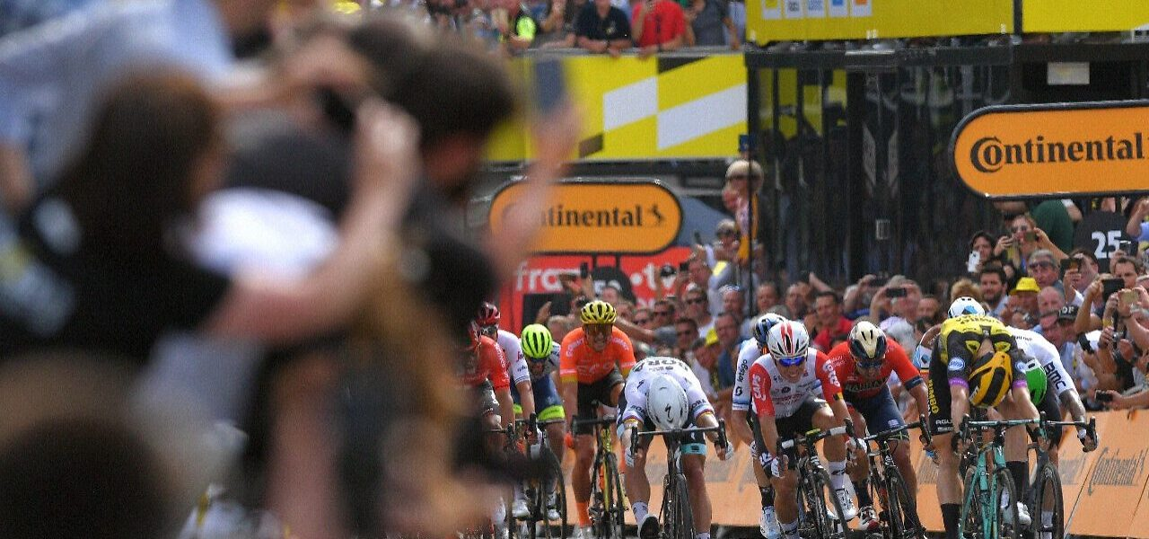 Teunissen Takes Surprise Stage 1 Victory at 2019 Tour de France 1