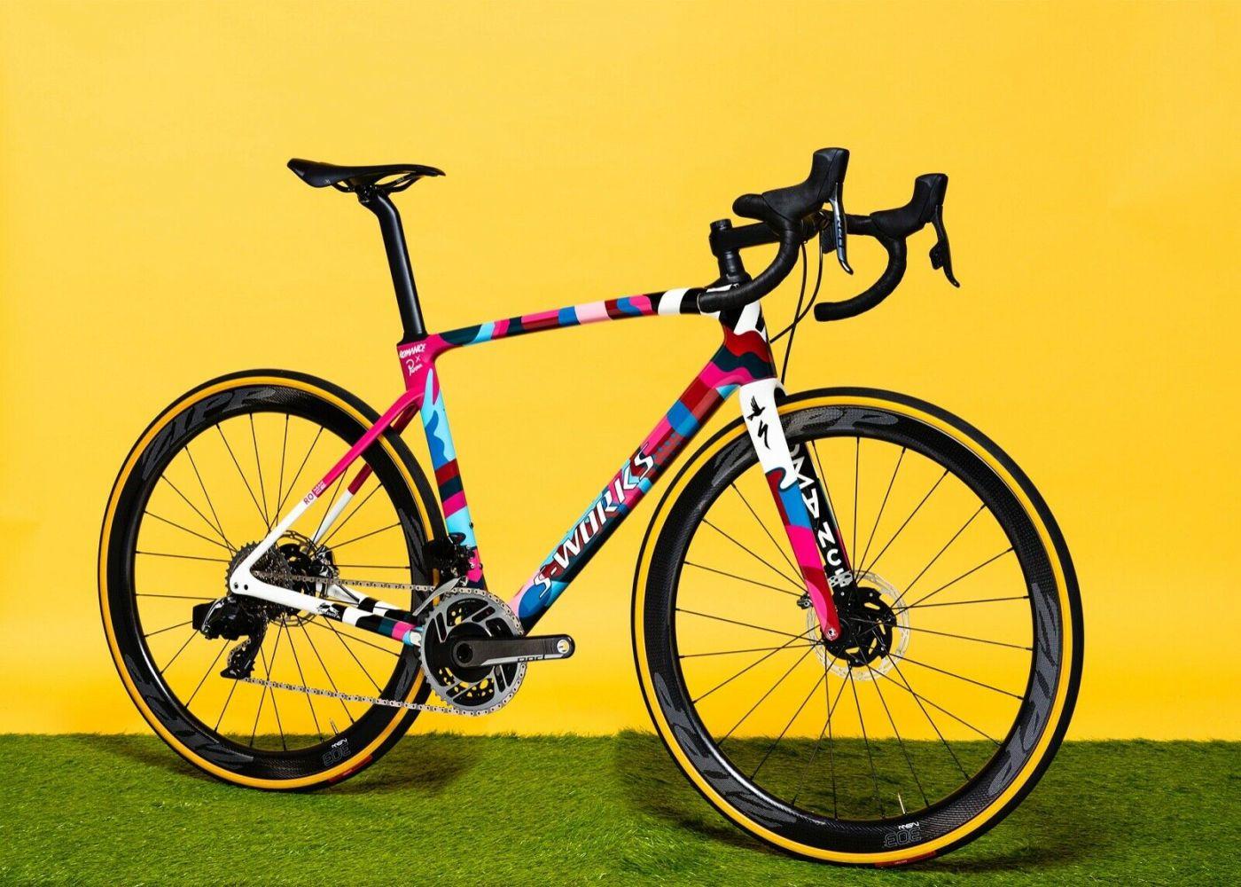 Romance X Parra One-Off Custom S-works Roubaix 3
