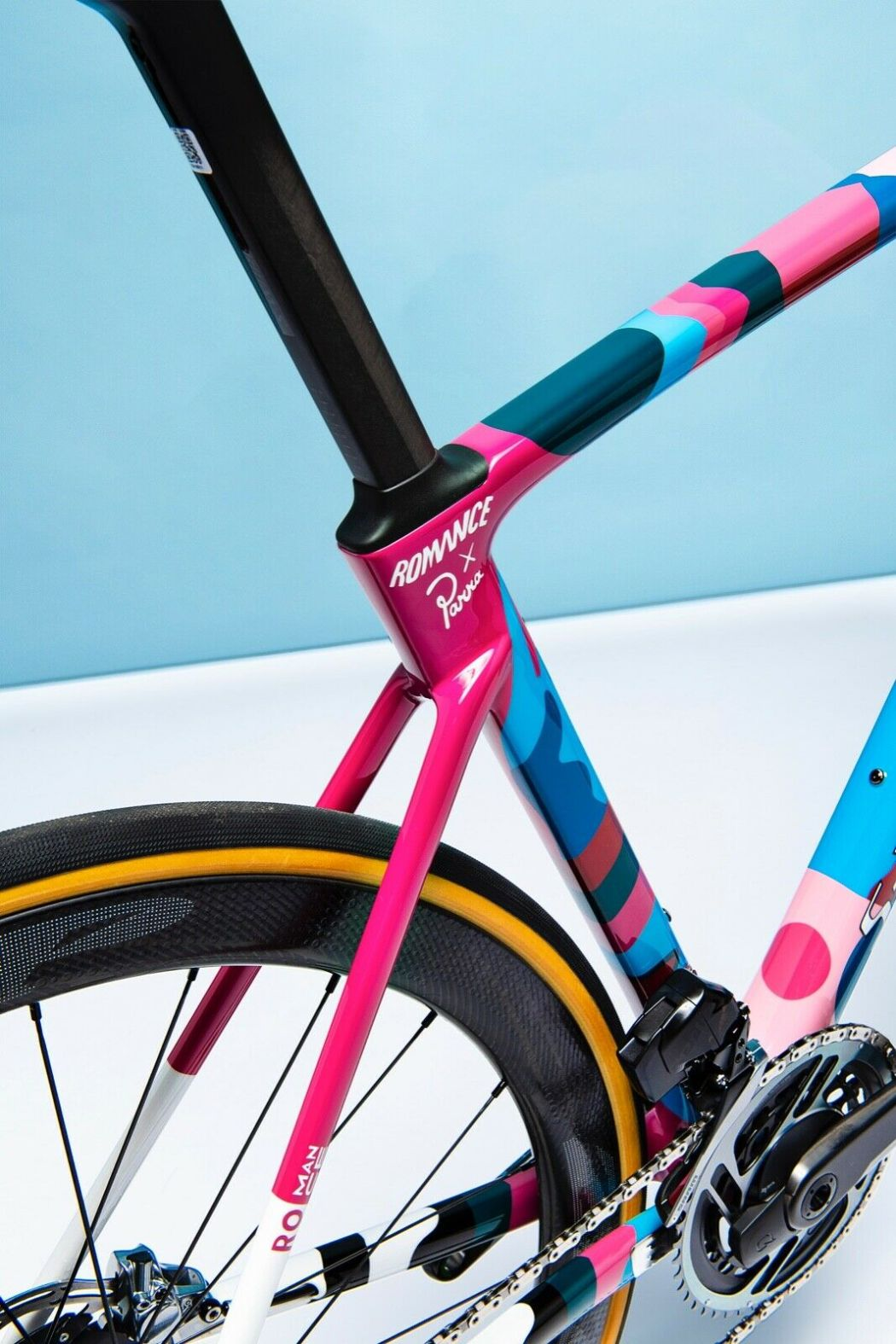 Romance X Parra One-Off Custom S-works Roubaix 9