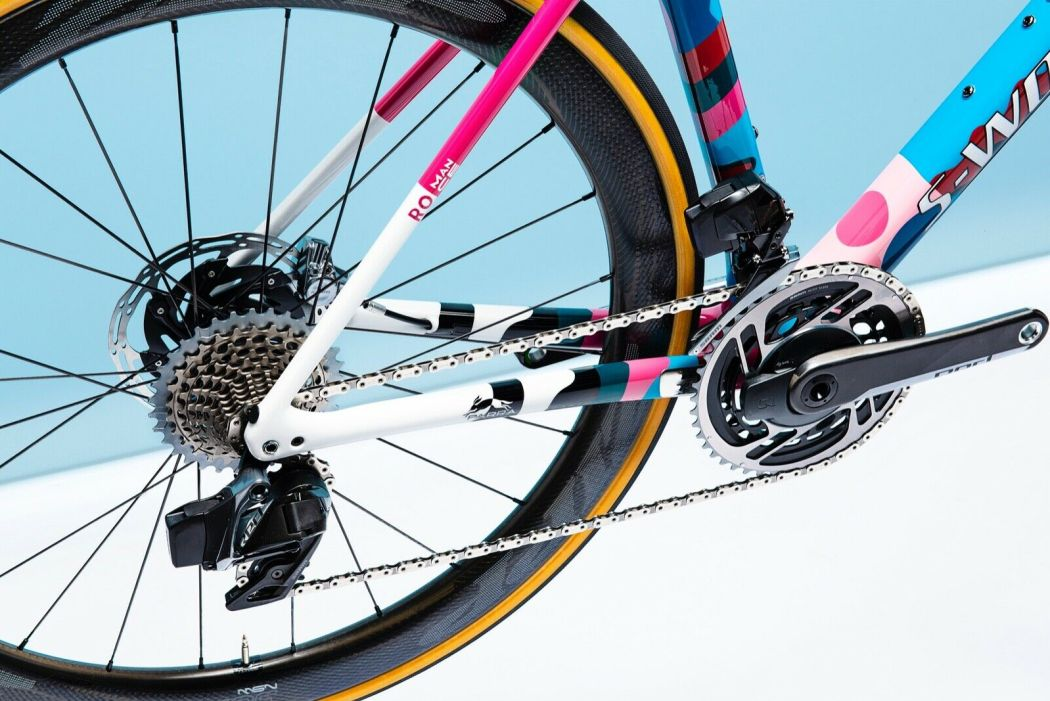 Romance X Parra One-Off Custom S-works Roubaix 8