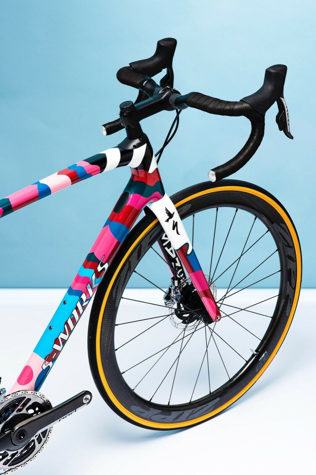 Romance X Parra One-Off Custom S-works Roubaix 7