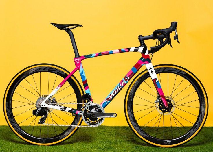 Romance X Parra One-Off Custom S-works Roubaix 8