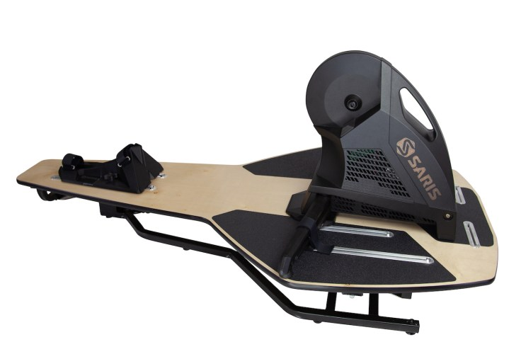 Realistic Indoor Training Comes at a Price: The Saris MP1 Nfinity Trainer Platform 4