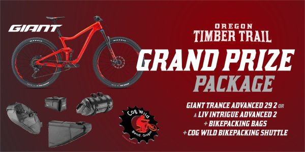 Help Raise Money for the Oregon Timber Trail and Win a Giant Trance 15