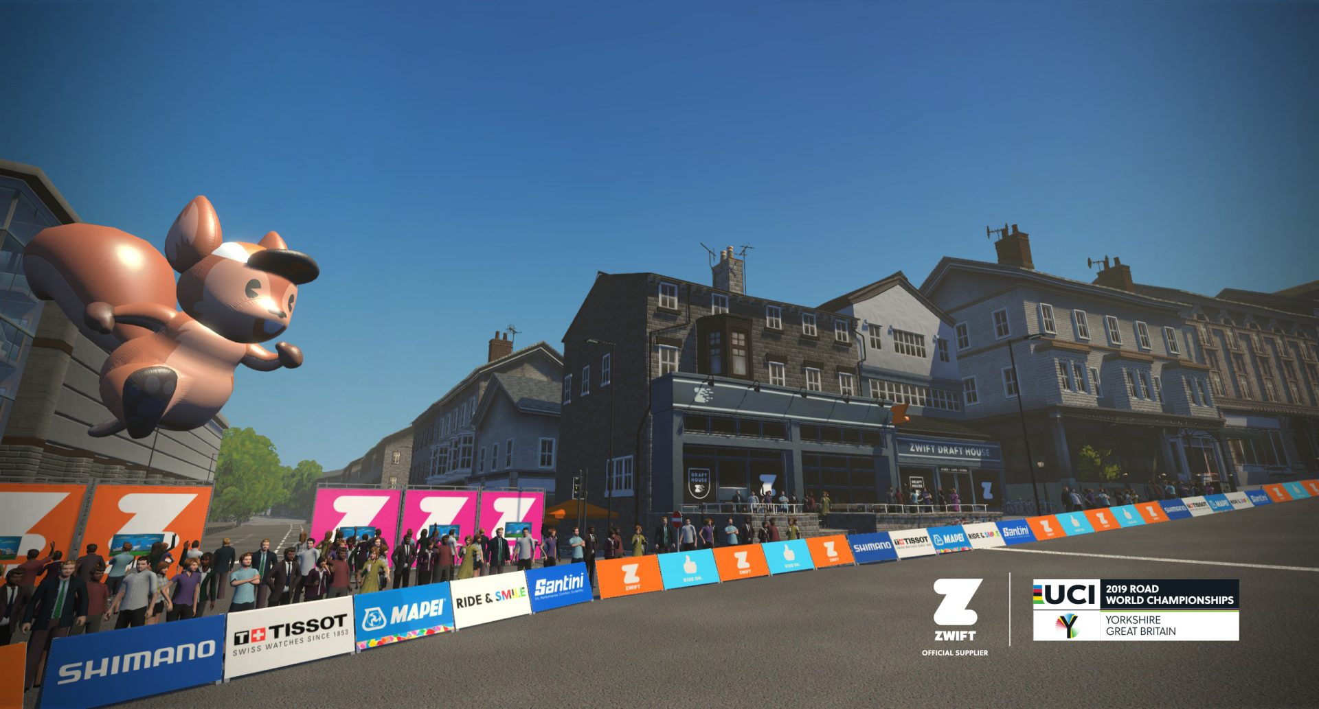 Zwift Launching Virtual Yorkshire World Championships Course 10