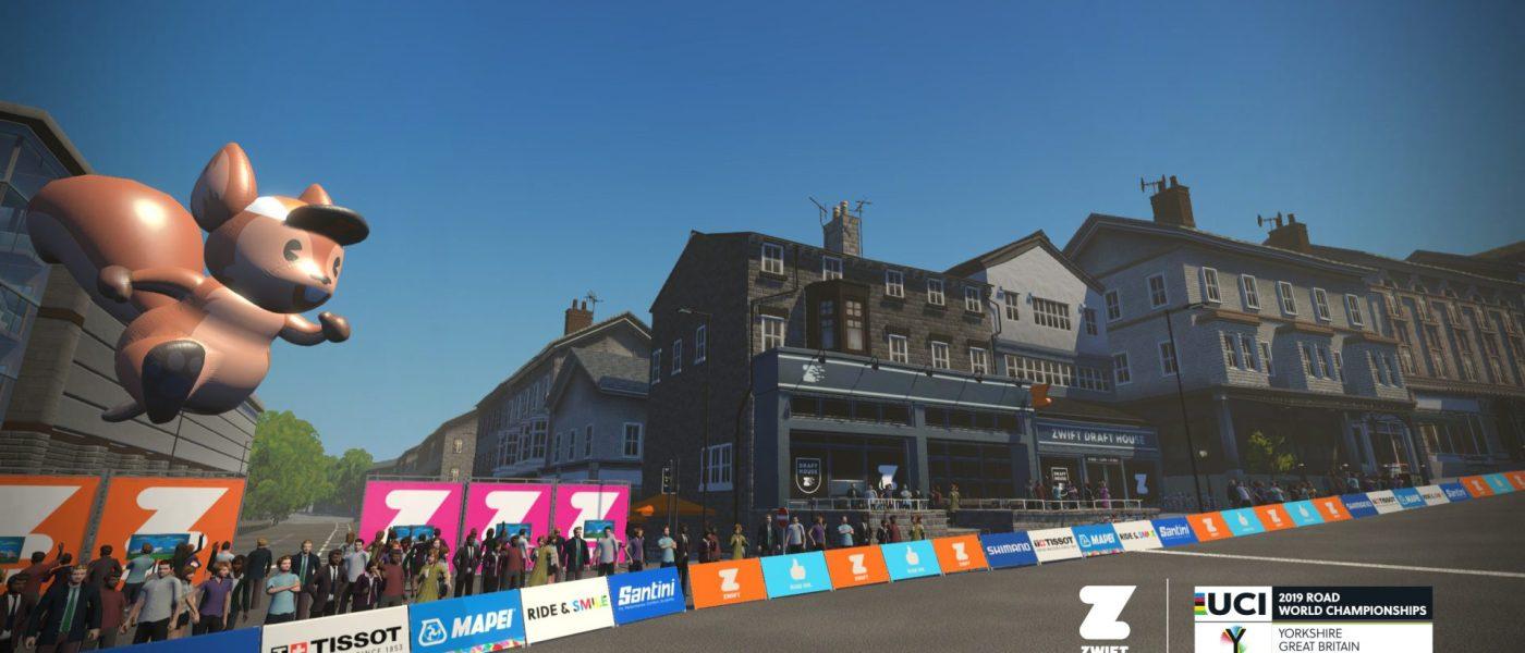 Zwift Launching Virtual Yorkshire World Championships Course 1
