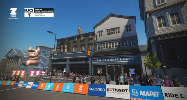 Zwift Launching Virtual Yorkshire World Championships Course 5