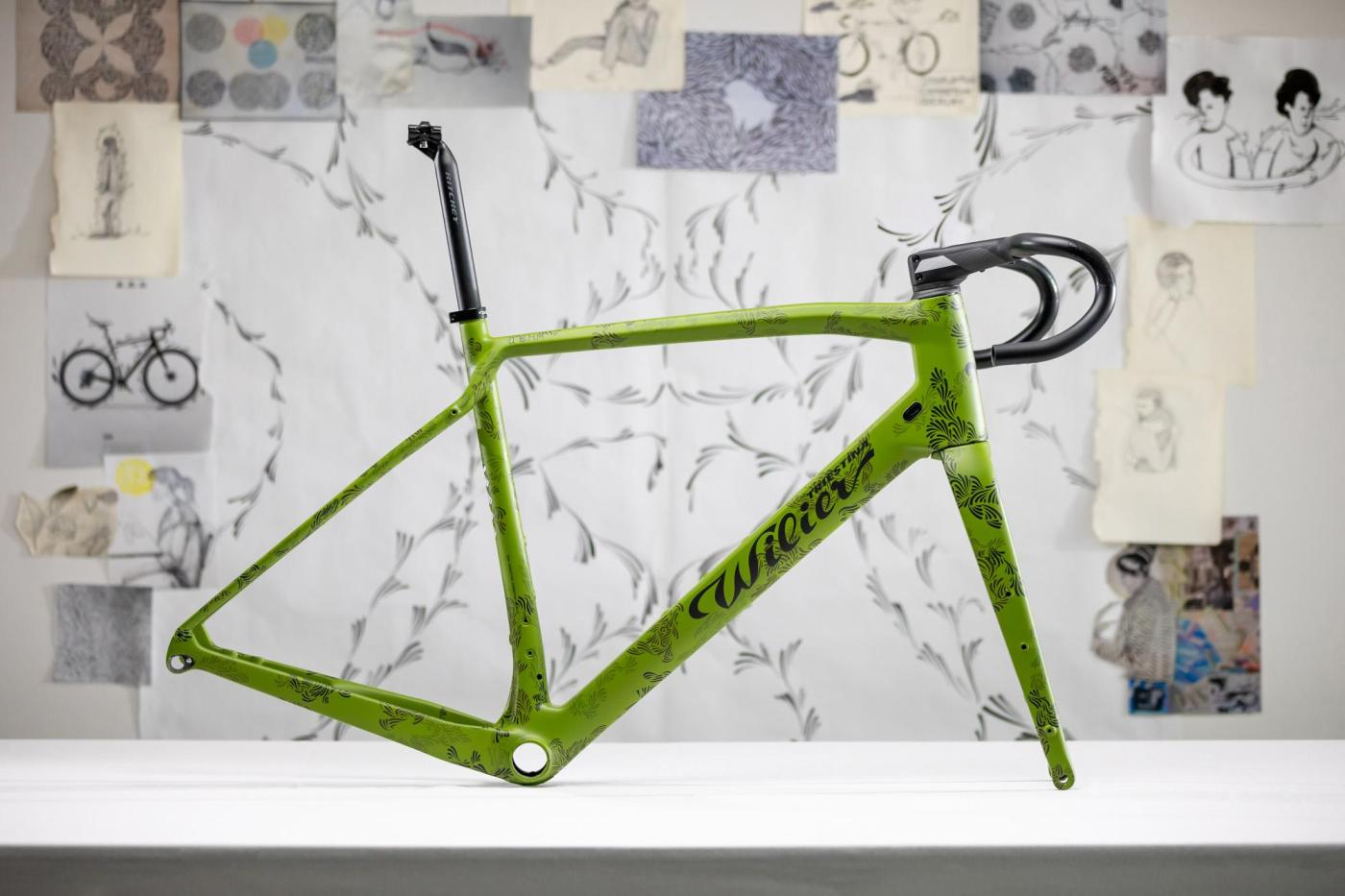DKlein x Wilier Triestina JENA Jungle DCO Gravel Bike 27